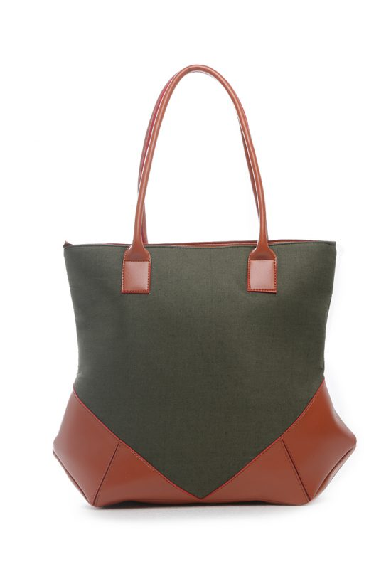 Linen_Leather_Tote_Green_5