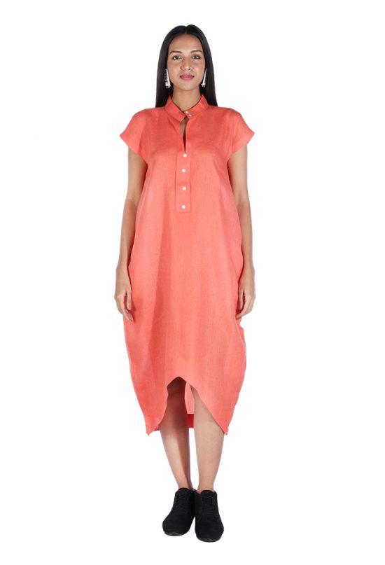 Uneven-dress_rust_1